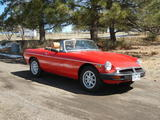 1978 MG MGB Red Ben G